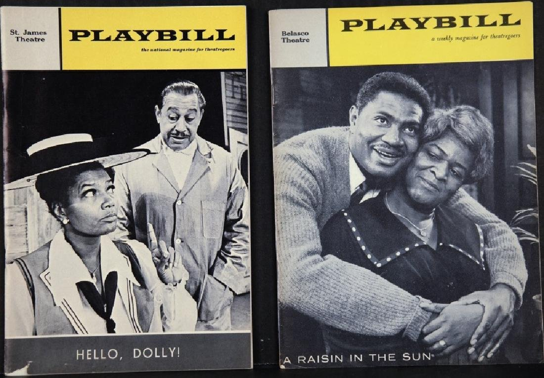 Playbill. 7 issues, 1960-1984.