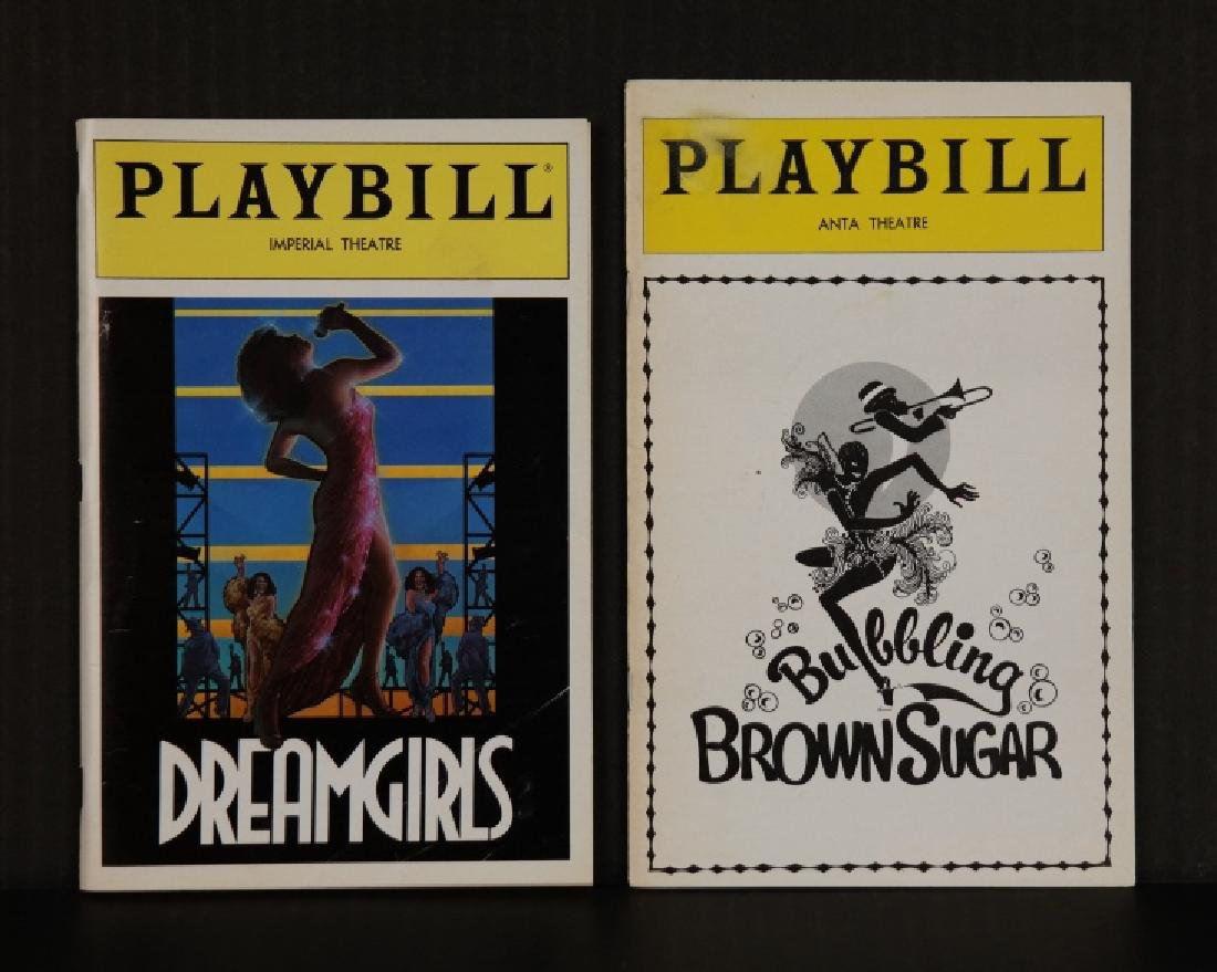 Playbill. 8 issues, 1949-1991.