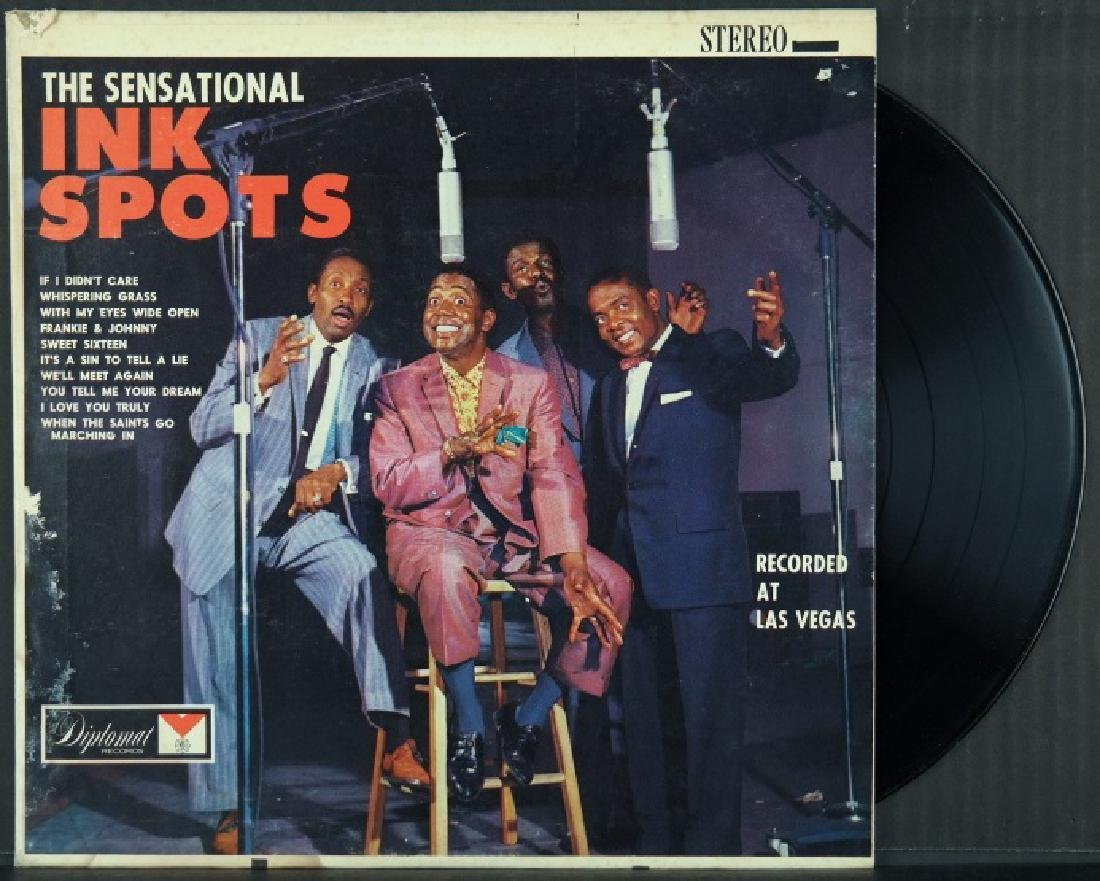 5 items incl 4 posters: Black Gold, Ink Spots, etc