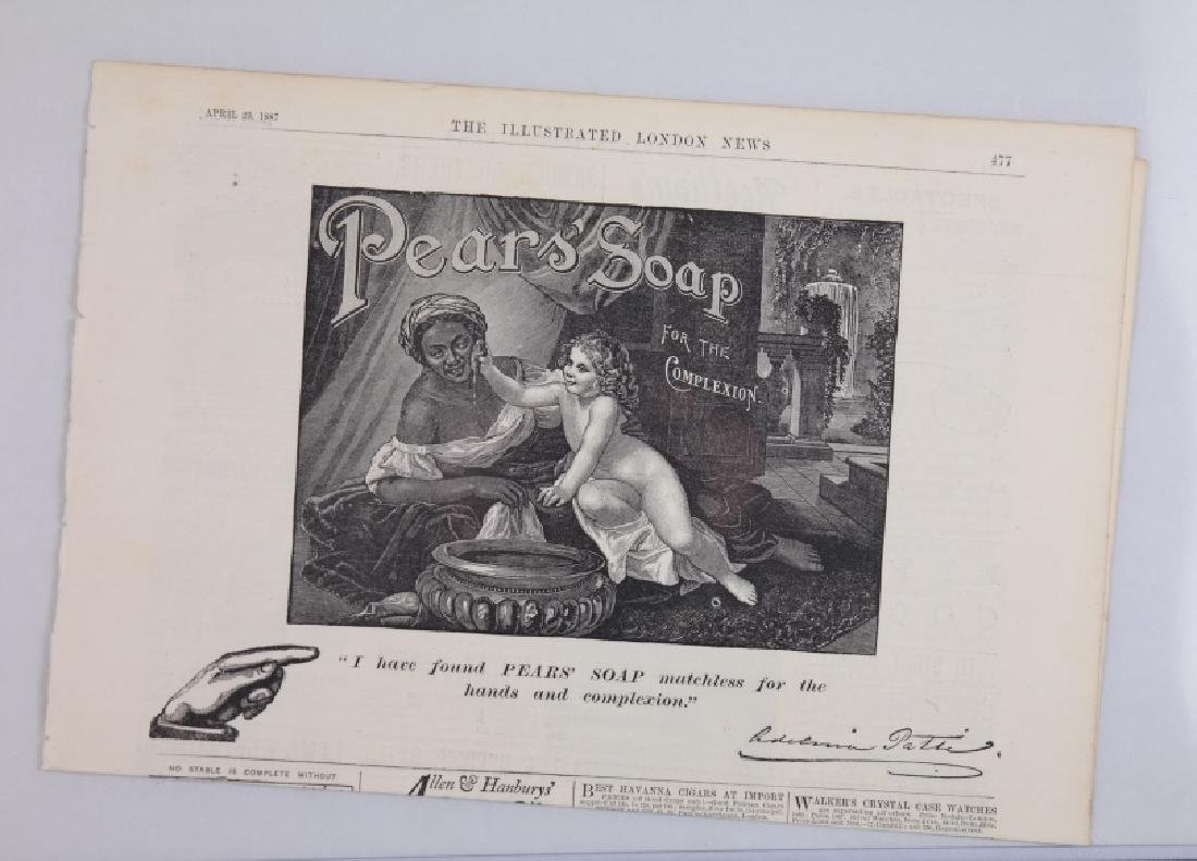 19 ads w/ illustrations, early-mid 1900s. - 7