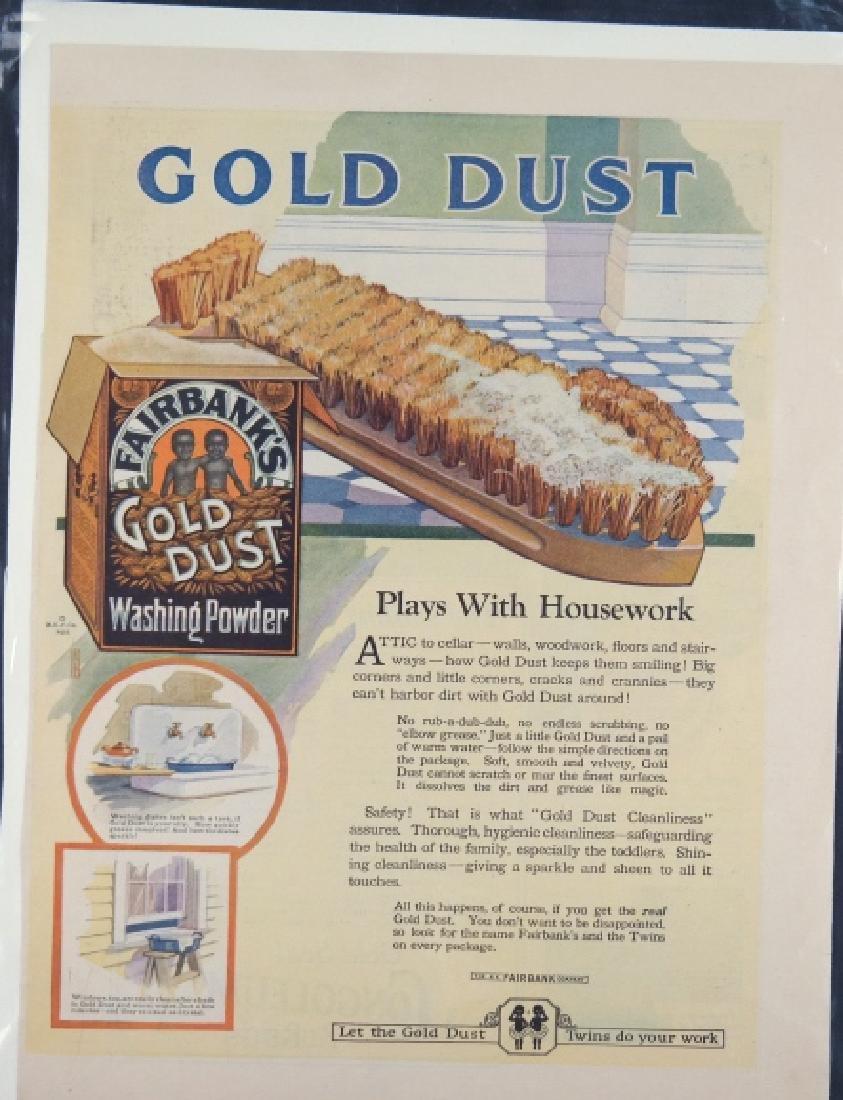20 ads: Cream of Wheat, Gold Dust, Black Americana