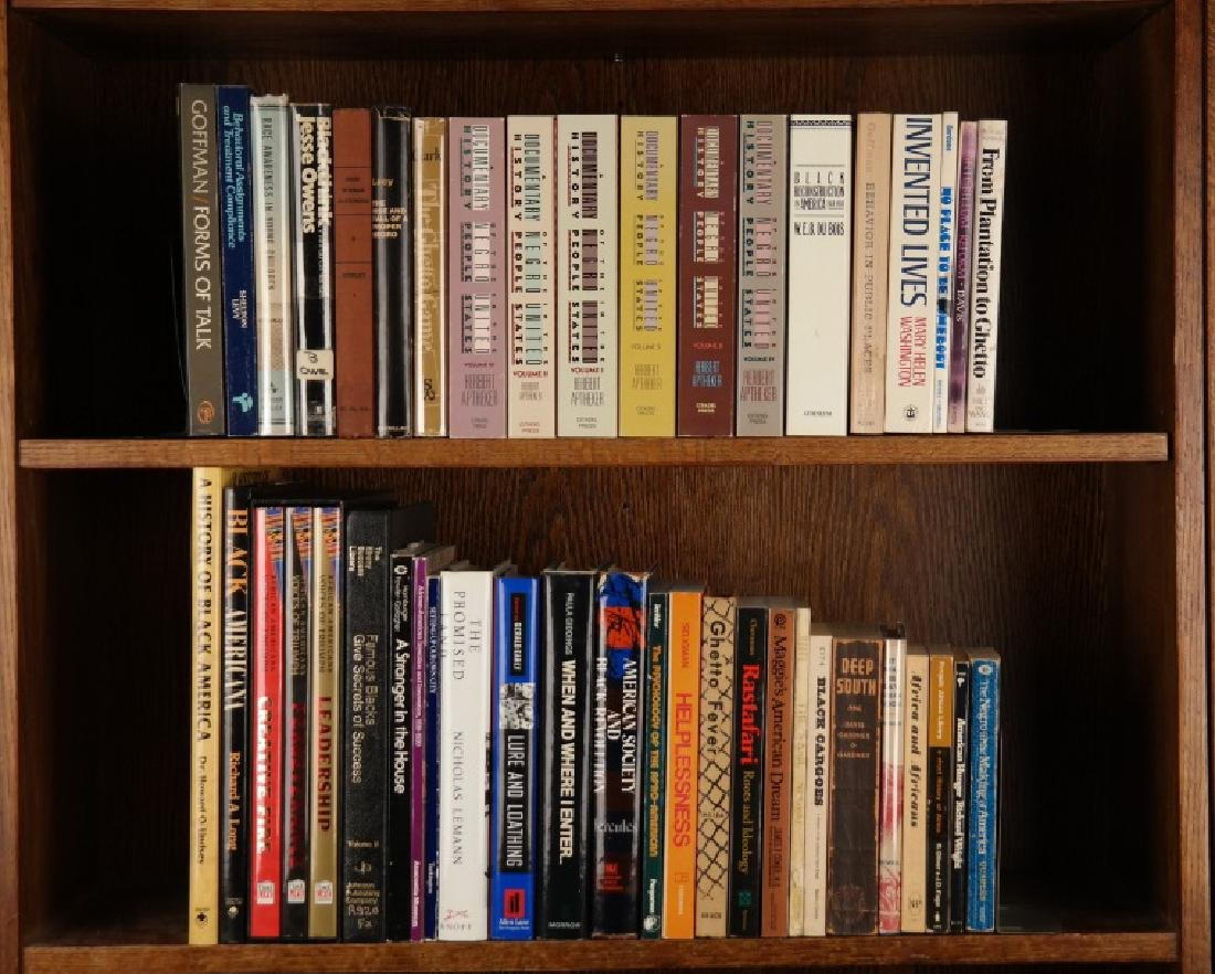 43 titles (45 Vols): Black history and life in US.