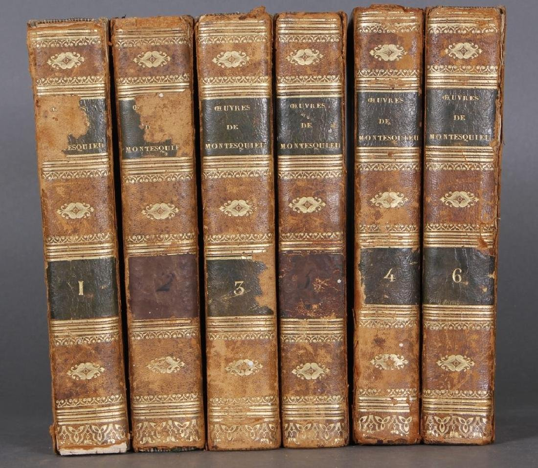 Montesquieu. 6 vols. Owned by a free black man.