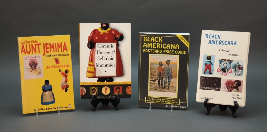 9 books: Black Americana collectors' reference.