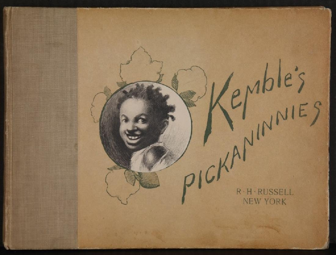 2 Books: Kemble's Coons + Kemble's Pickaninnies.