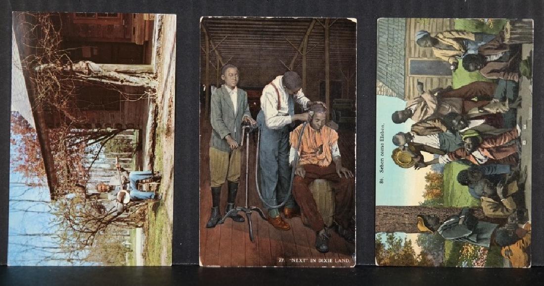 Group of 36 Black Americana postcards - 3