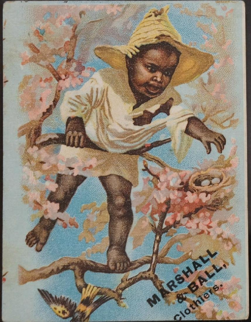 10 trade cards: Marshall & Ball, Creme Oat Meal...