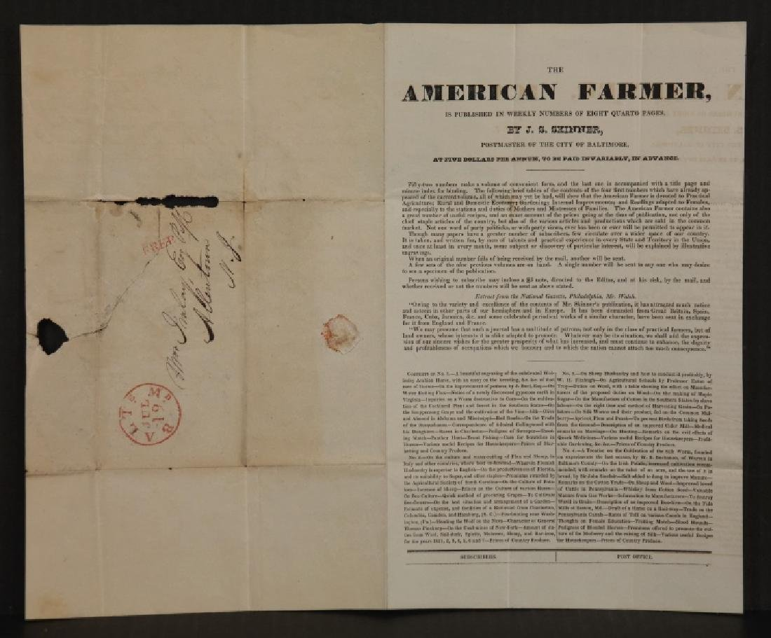 3 items incl ad offering $300 for runaway slaves. - 4