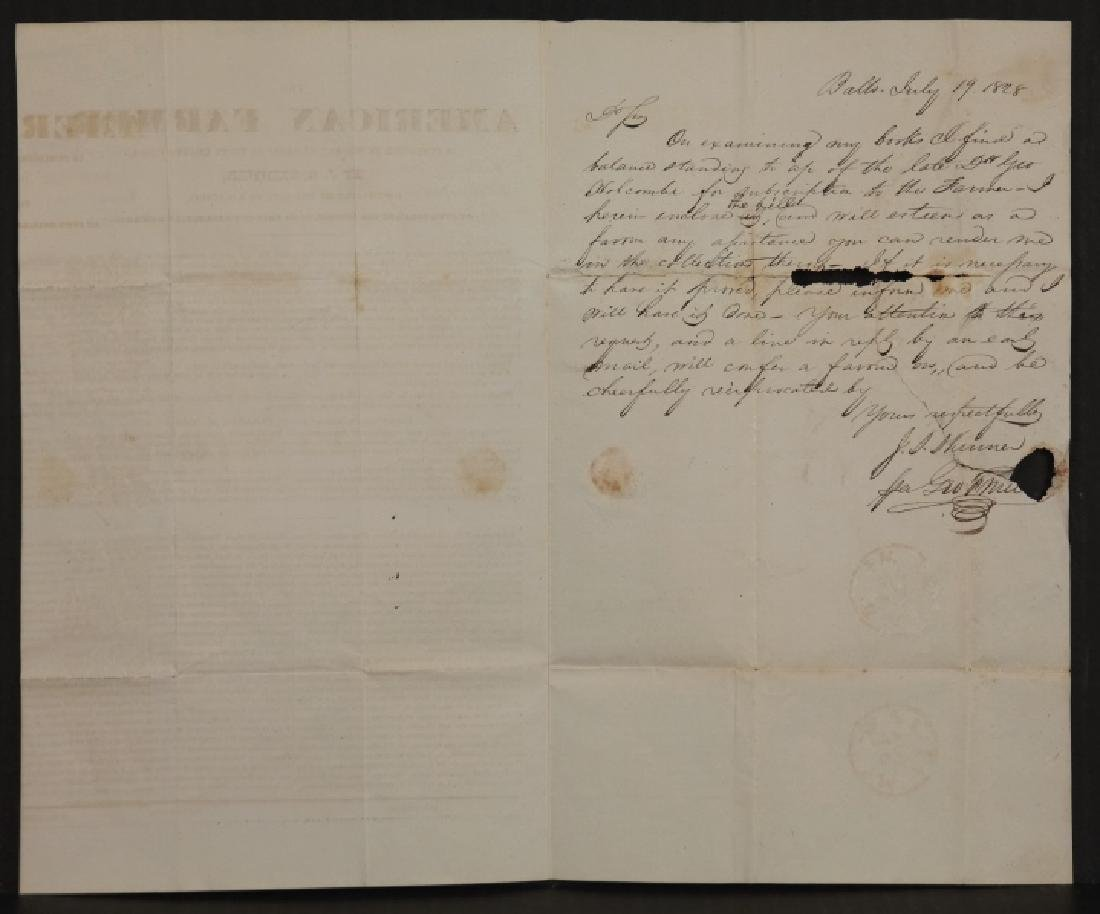 3 items incl ad offering $300 for runaway slaves. - 5