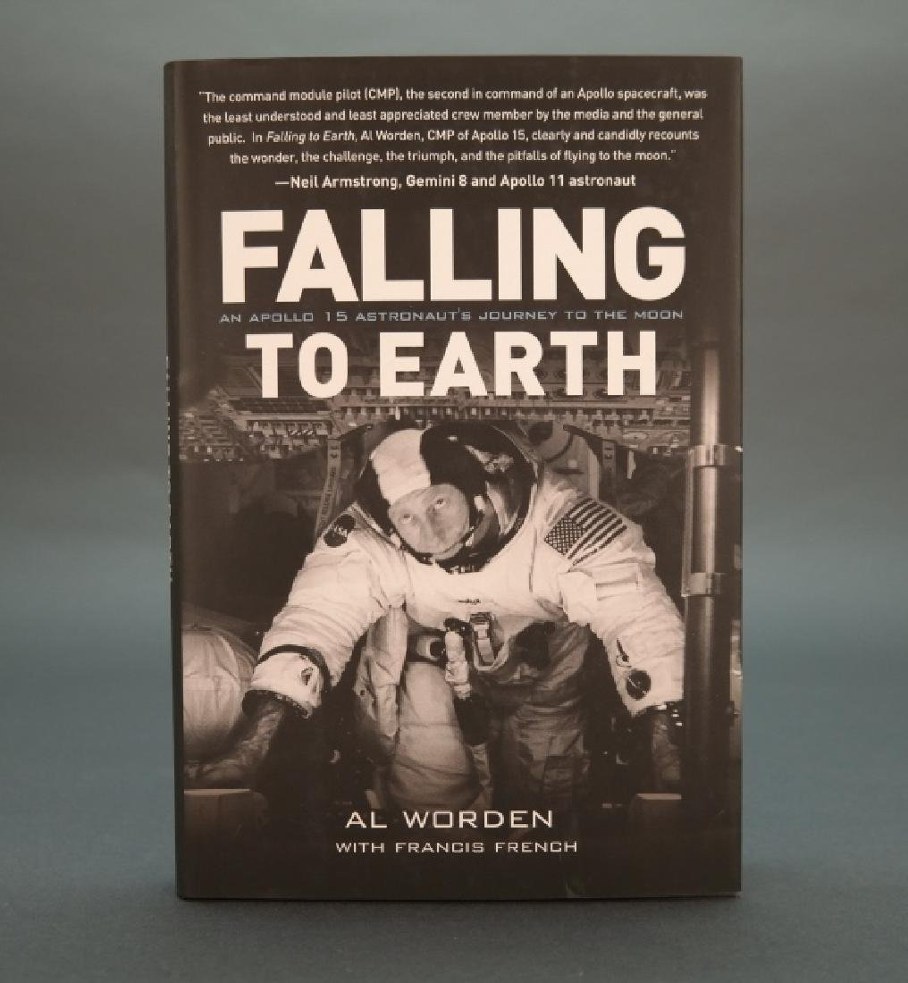 10 copies signed by Al Worden: Falling To Earth.