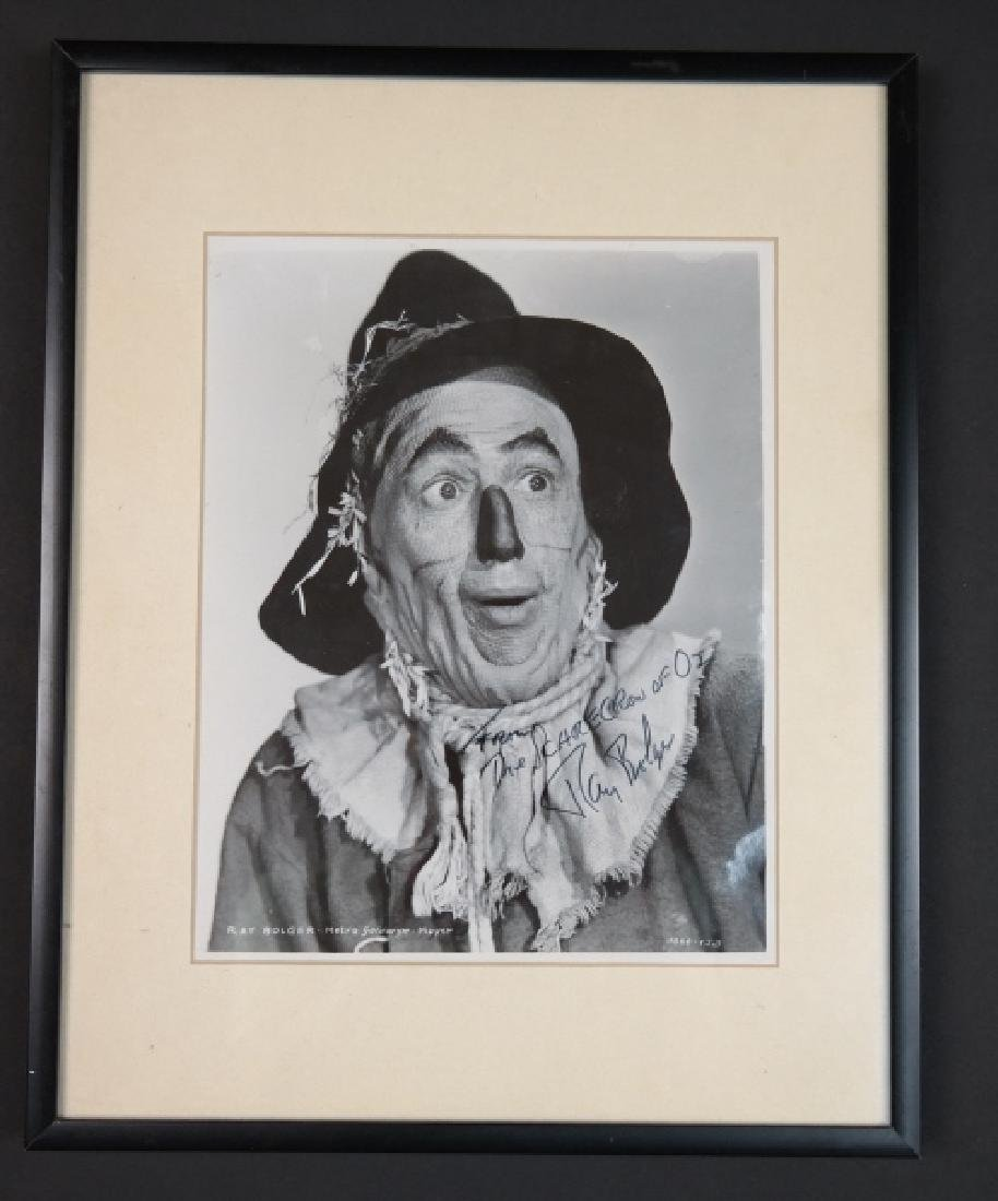 4 signed items: Wizard of Oz, Andy Hardy.