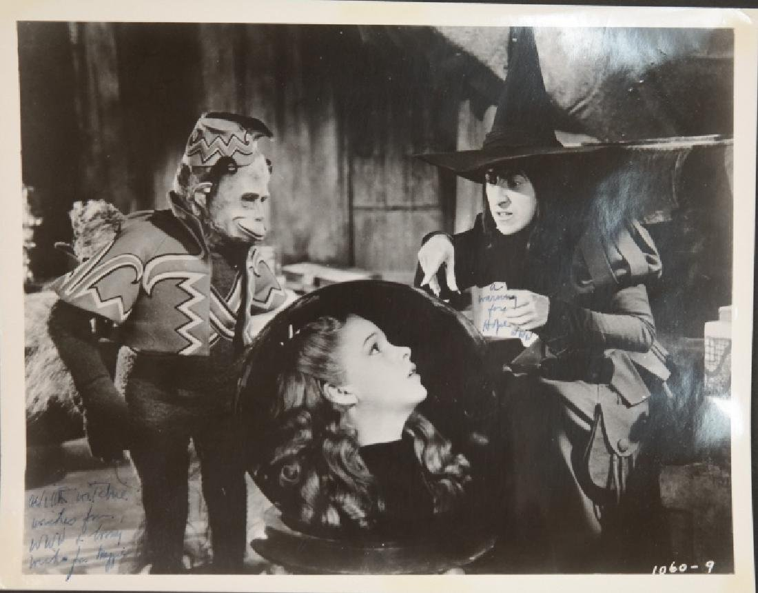 4 signed items: Wizard of Oz, Andy Hardy. - 4