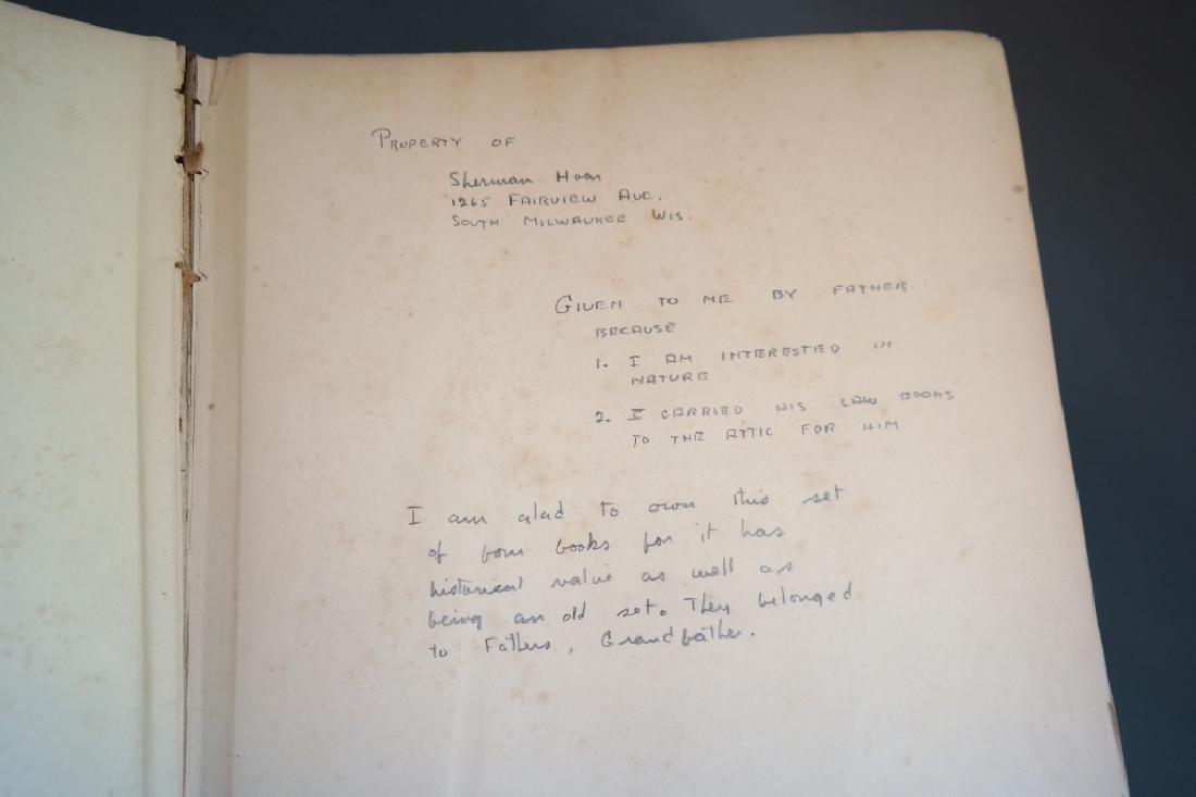 3 Vols incl: Agassiz, 2 Vols, signed by E. R. Hoar - 10