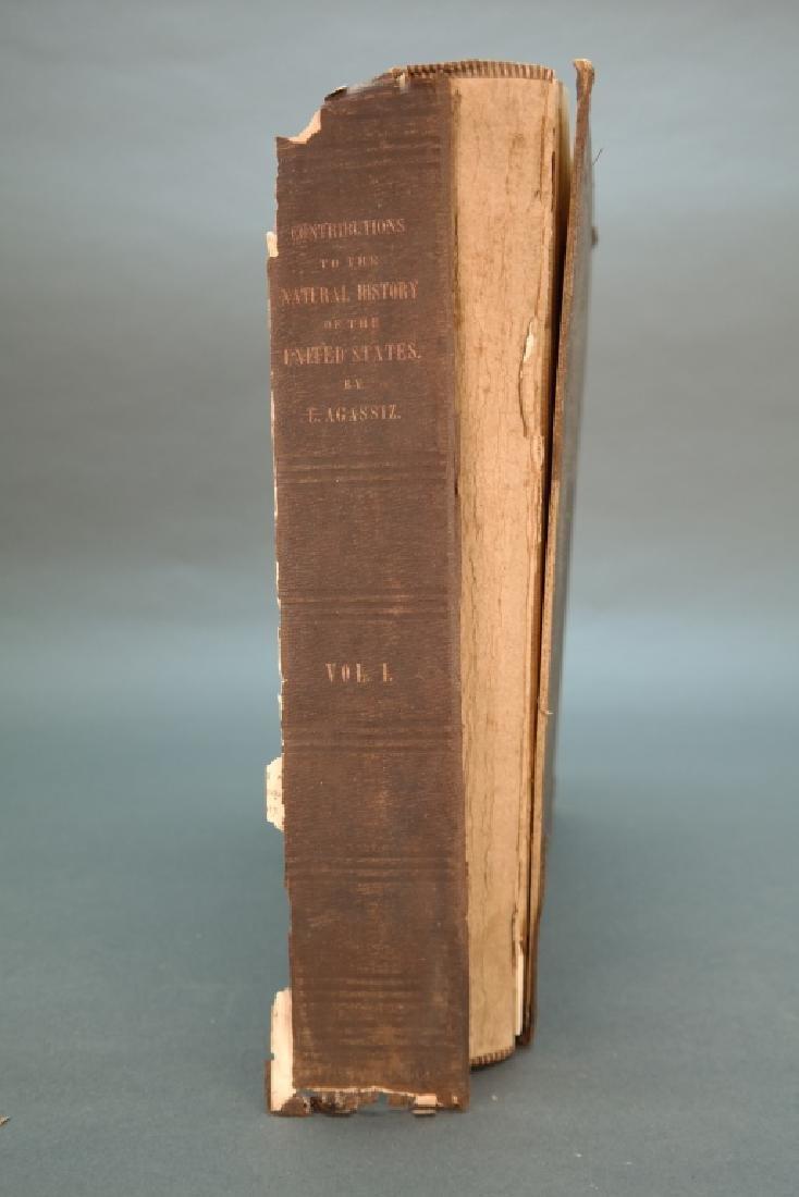 3 Vols incl: Agassiz, 2 Vols, signed by E. R. Hoar - 13