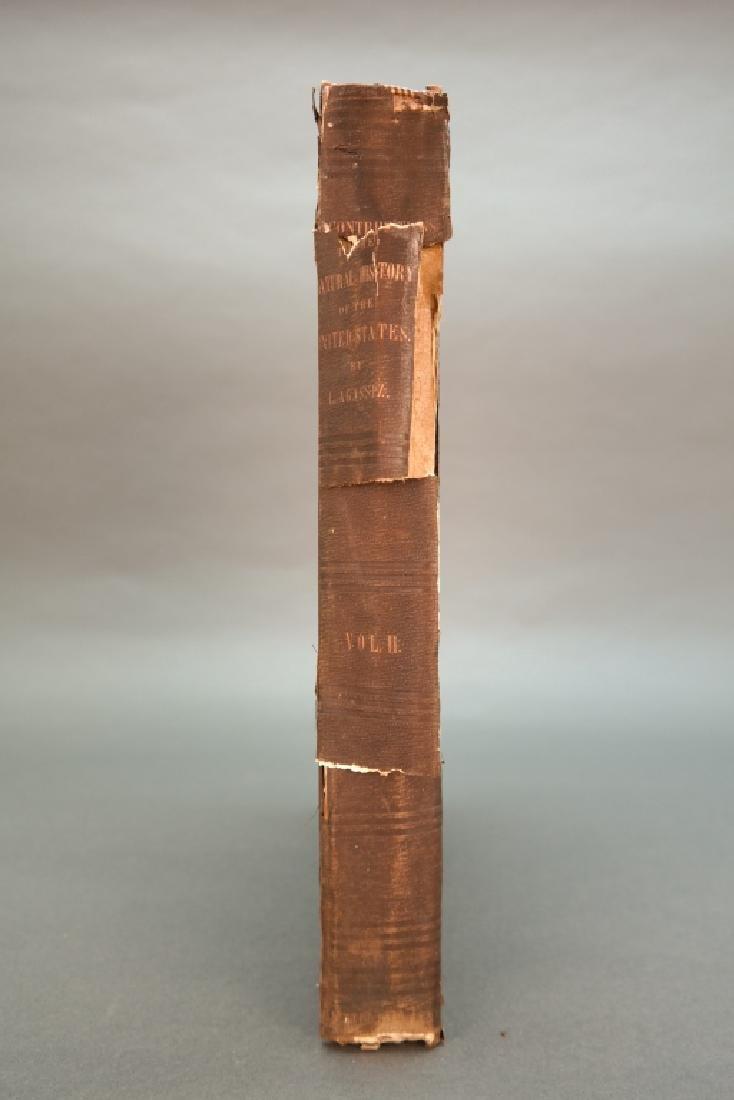 3 Vols incl: Agassiz, 2 Vols, signed by E. R. Hoar - 2