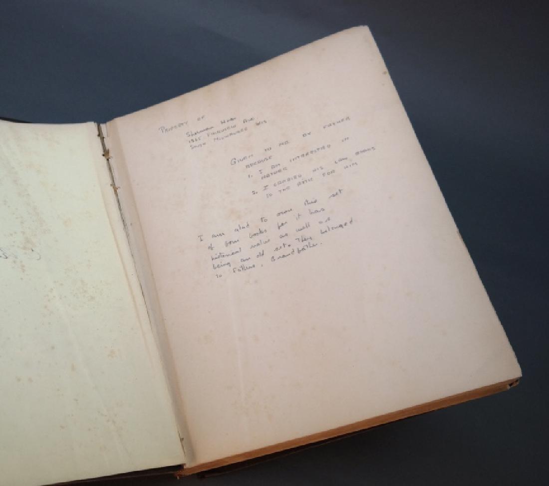 3 Vols incl: Agassiz, 2 Vols, signed by E. R. Hoar - 9