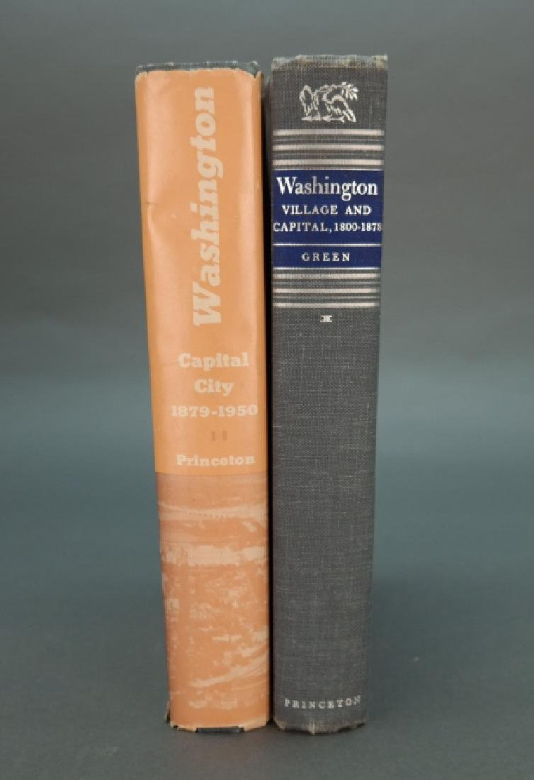 Signed, inscr: Green. Washington. 2 Vols. 1962-63.