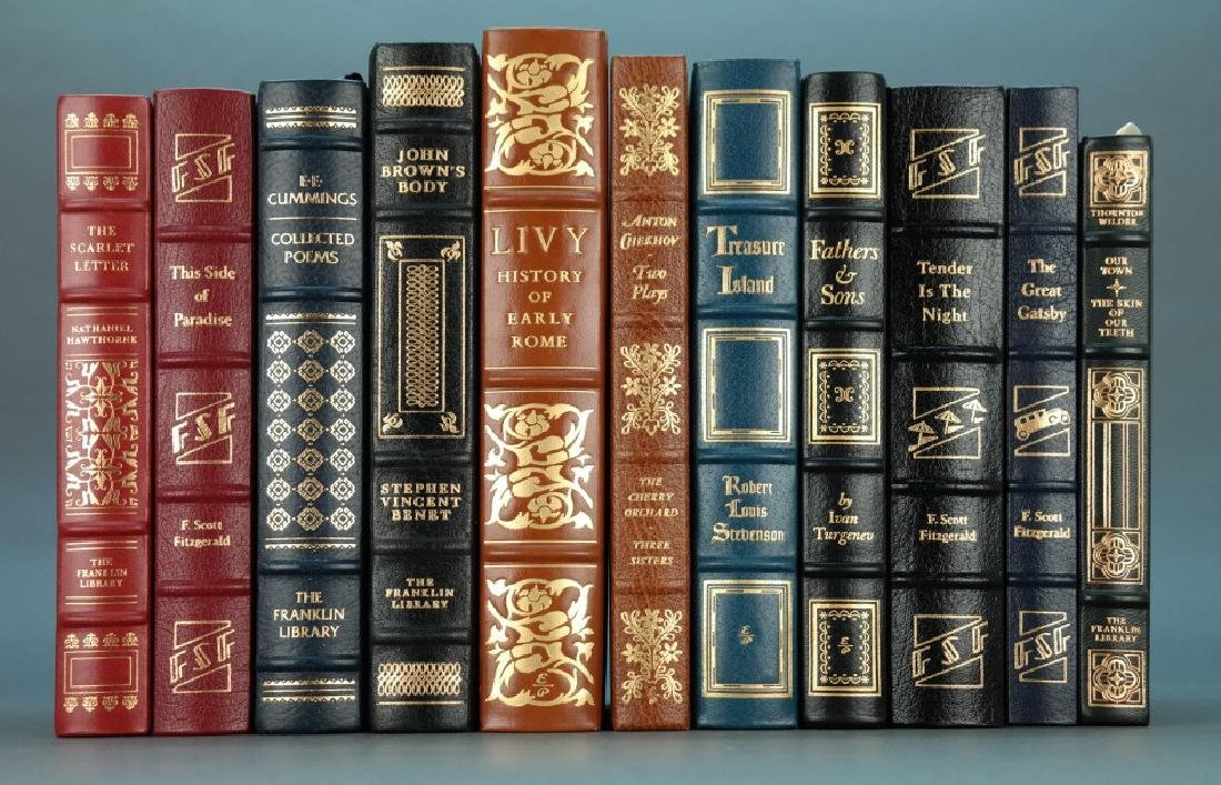 11 Titles: Easton Press, Franklin Library.