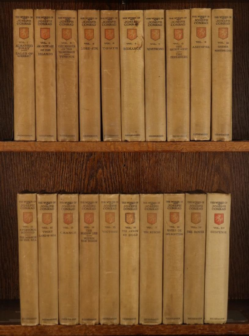 The Works Of Joseph Conrad. 20 Vols. 1/750 signed.