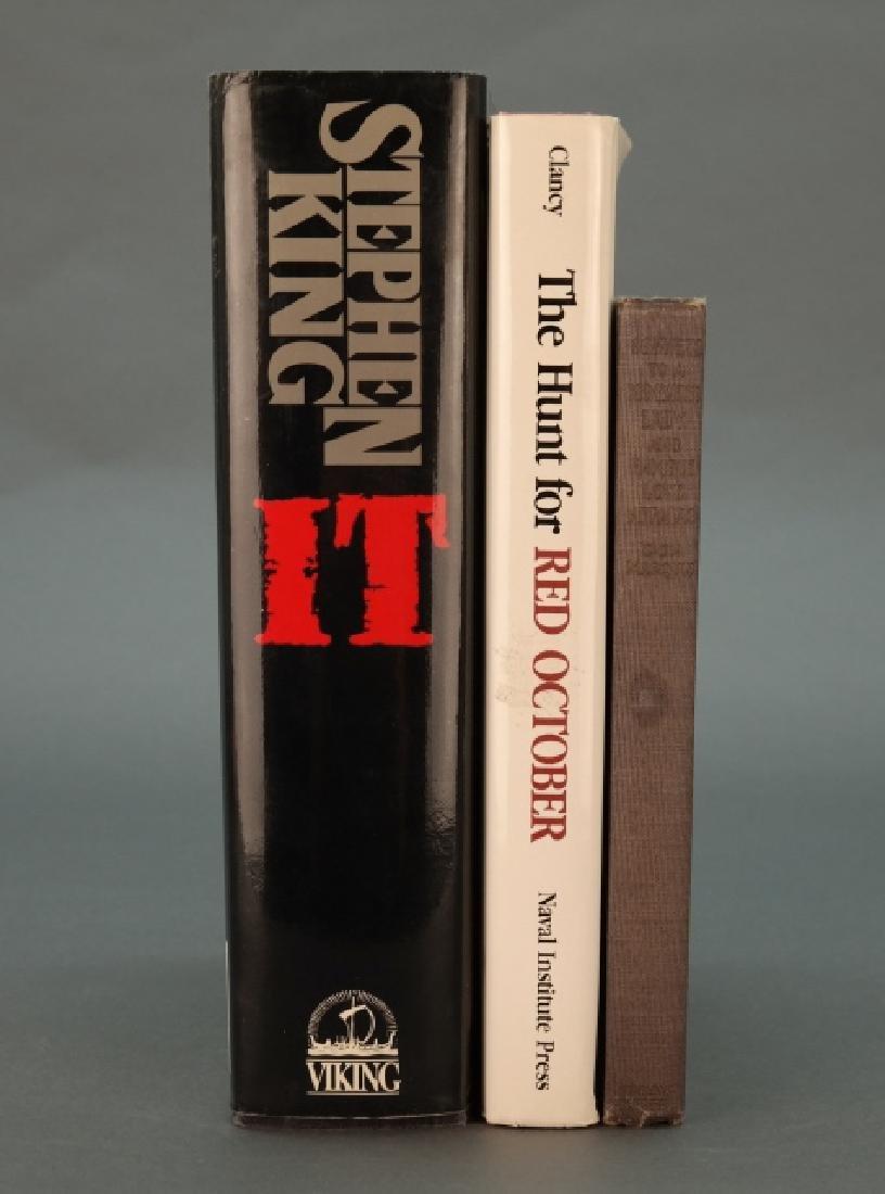 3 Books incl: Stephen King. IT. (1986). 1st prtg.