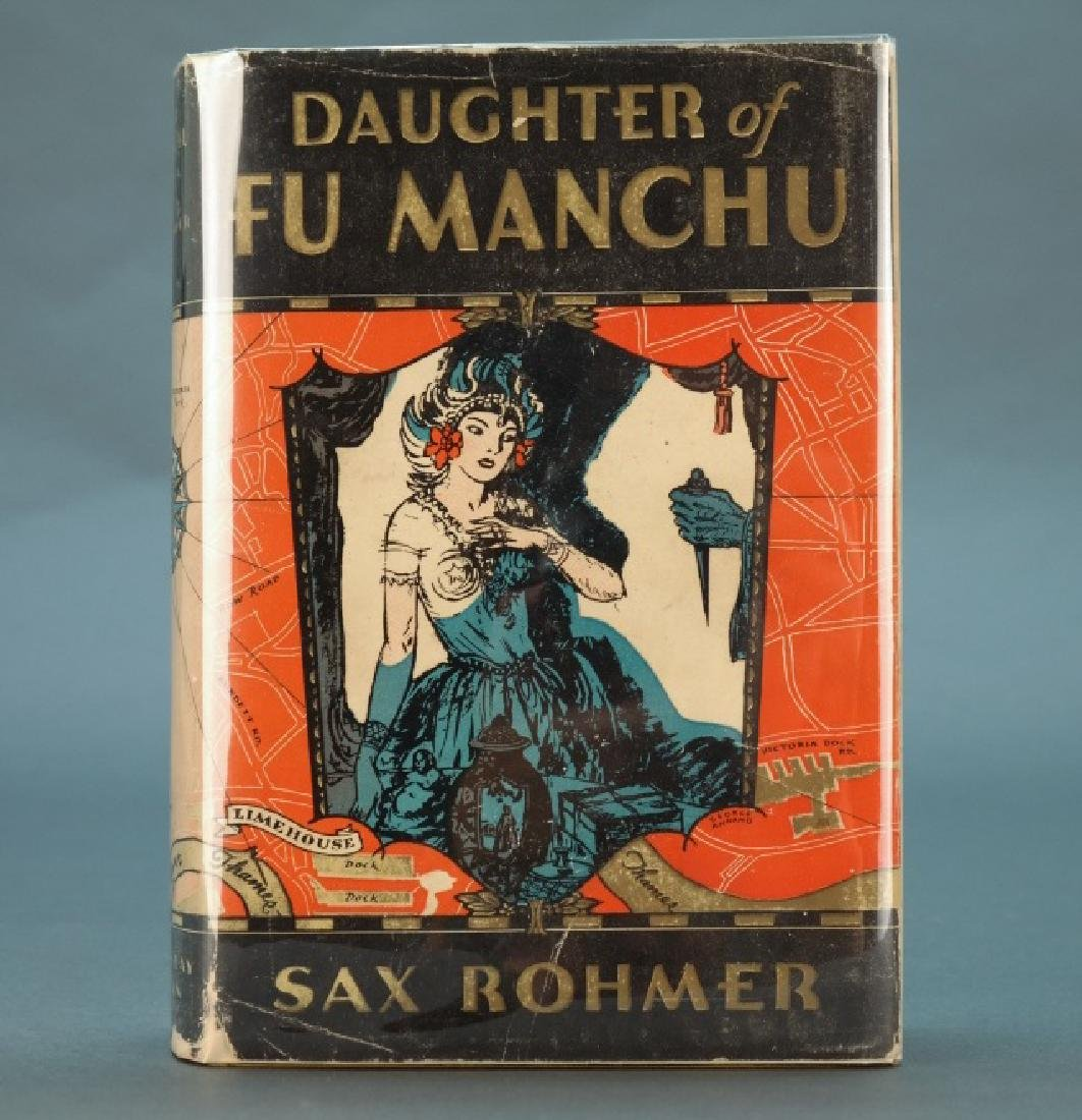 Sax Rohmer. Daughter Of Fu Manchu. 1931, in dj.