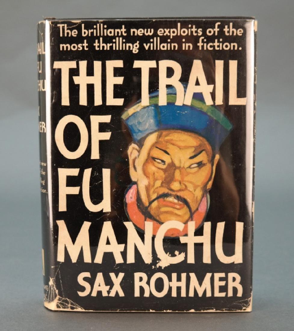 Sax Rohmer. The Trail Of Fu Manchu. 1934.