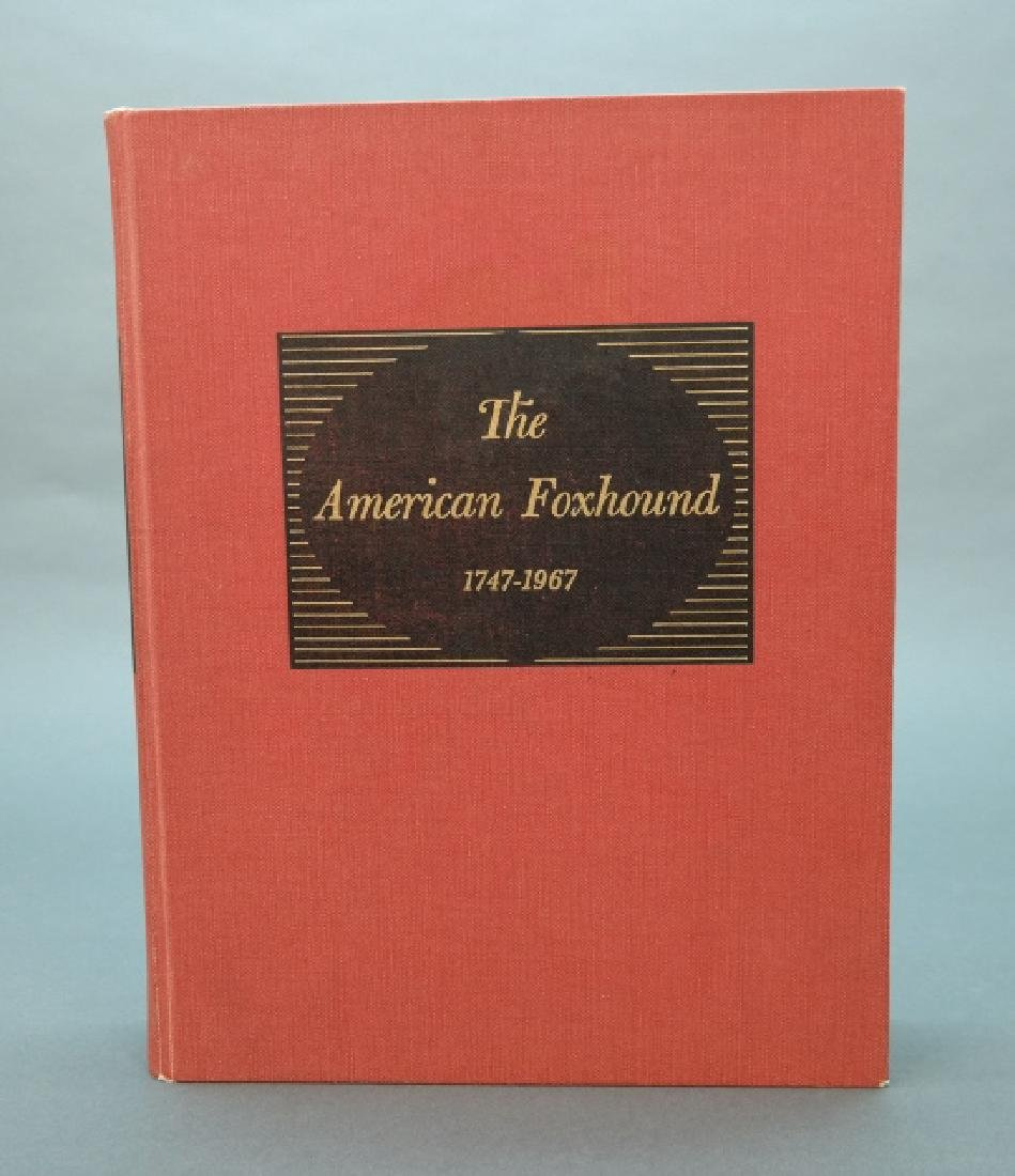 4 Books incl: The American Foxhound... inscribed