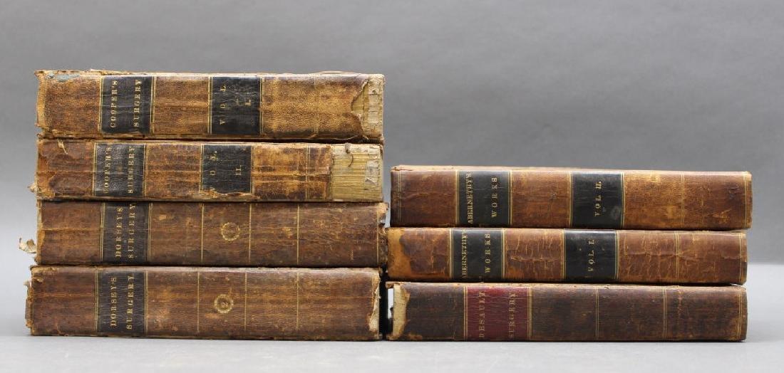 7 Vols, 1817-1828: Surgery.