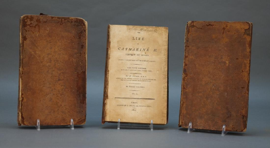 The Life Of Catharine II. 3 Vols. Dublin: 1800