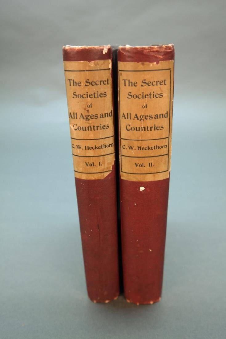 Heckethorn. The Secret Societies... 1897.