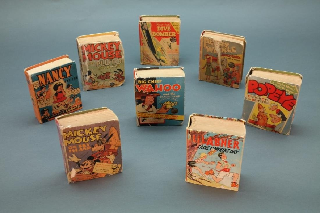 ~60 Titles: Big Little Books, mostly (1930s-1940s)