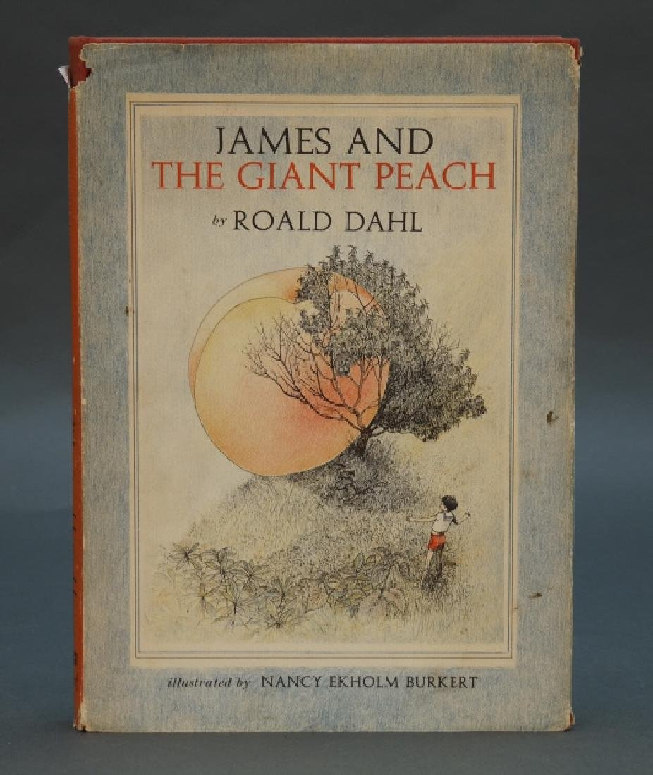 Roald Dahl. James And The Giant Peach. 1961, in dj