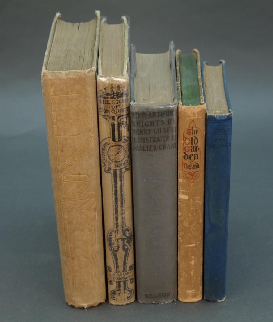 5 Vols illus by Crane incl: King Arthur's Knights.