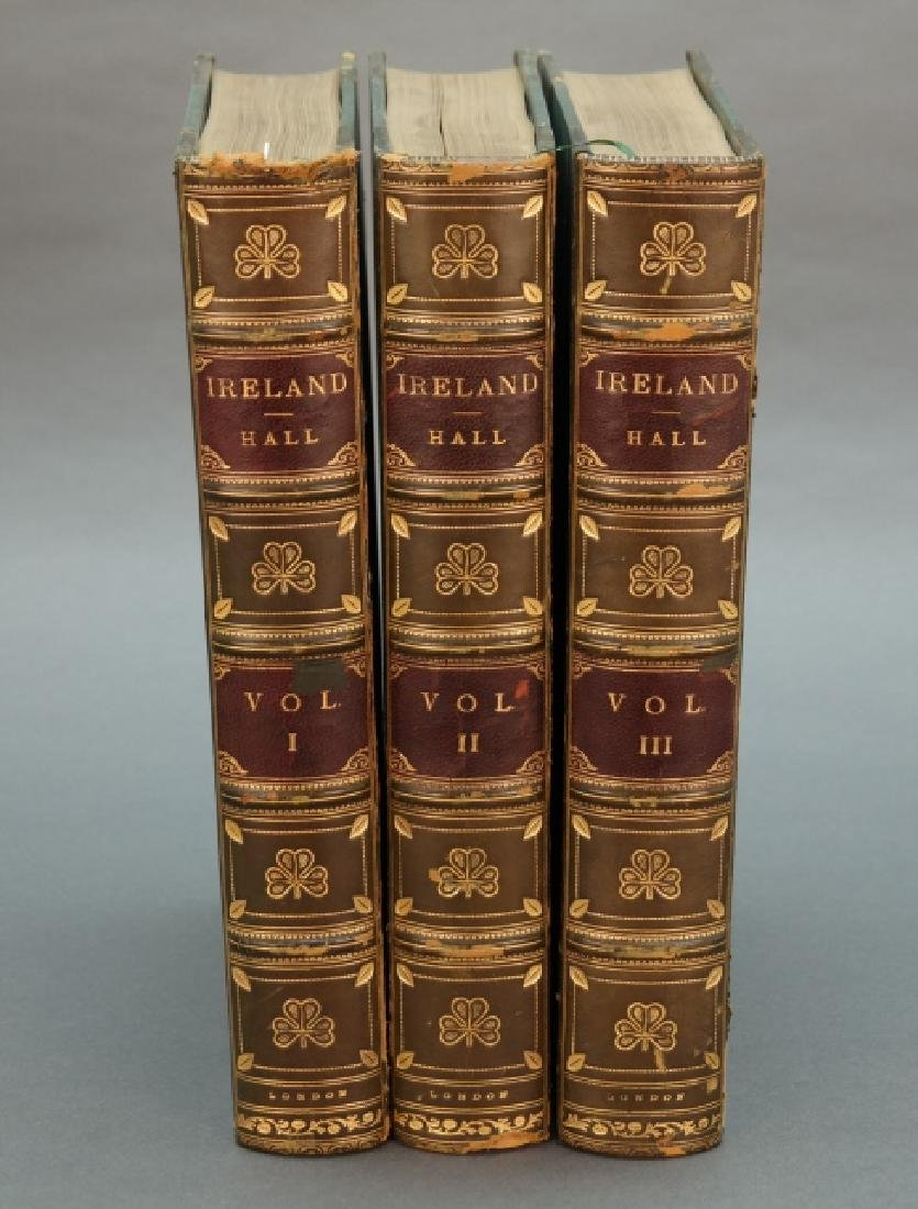 Hall. Ireland: Its Scenery, Character, &c. 3 Vols.