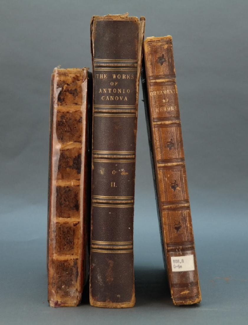 4 Vols incl: Works Of William Hogarth....