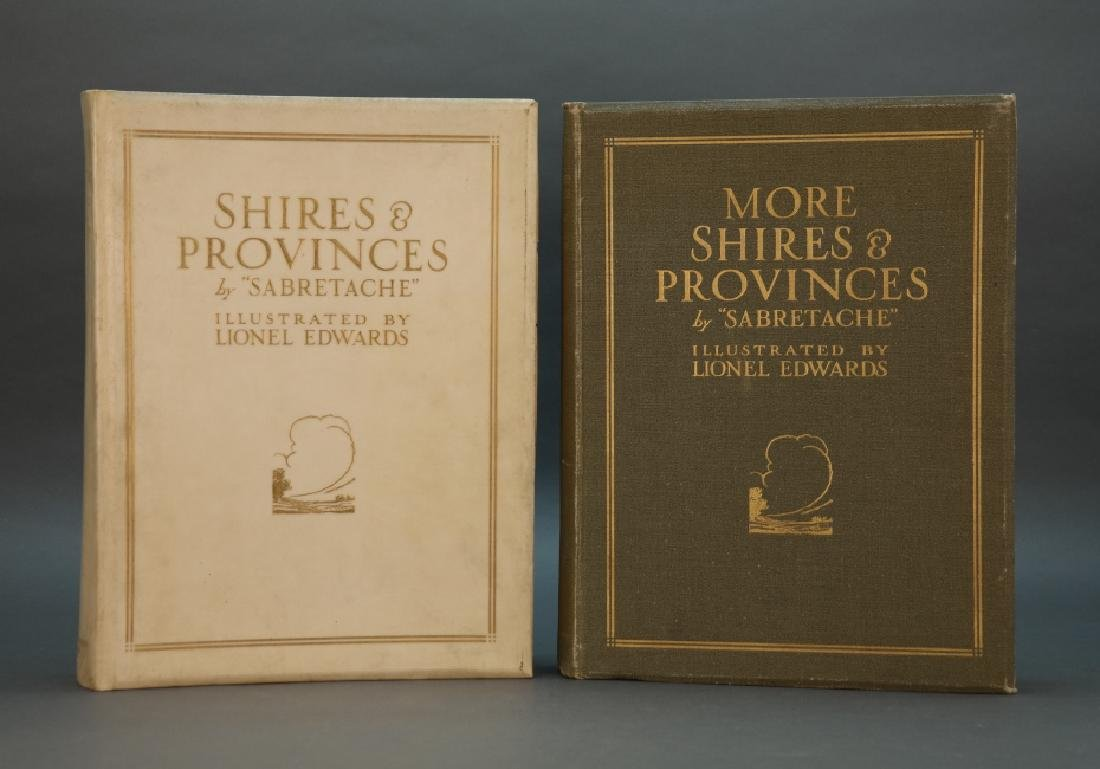2 Books incl: Shires And Provinces, 1/100 signed.