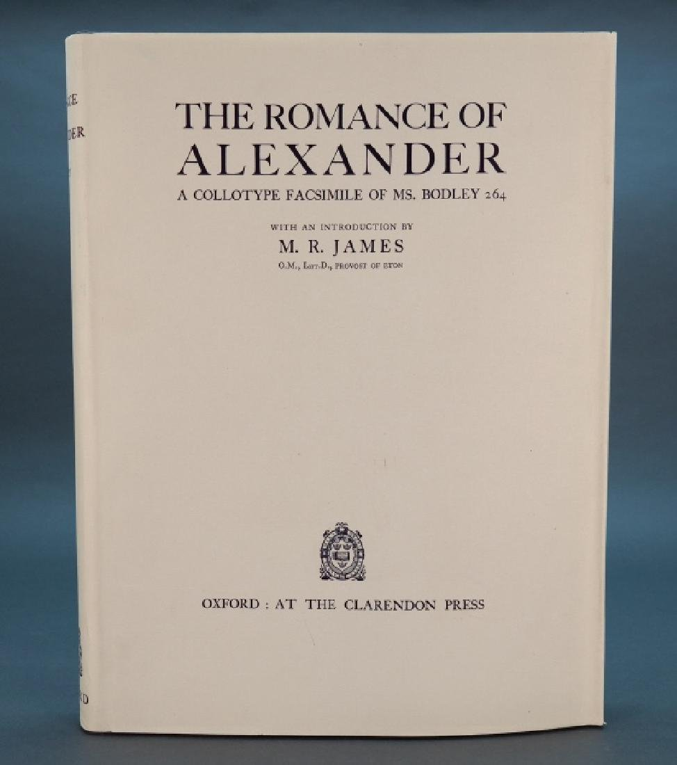 2 copies: The Romance Of Alexander. Oxford, 1933.