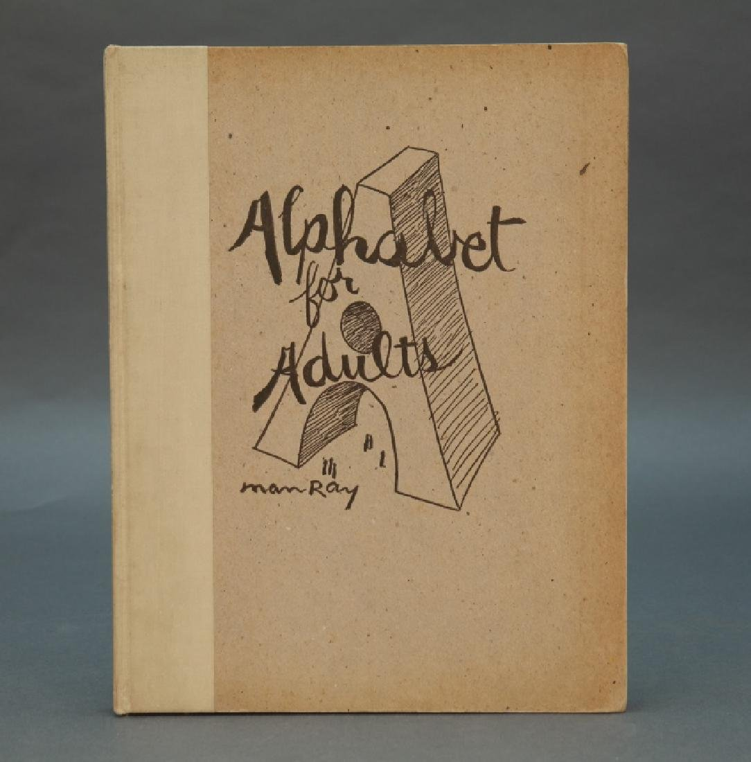 Alphabet For Adults. Signed, inscribed by Man Ray.