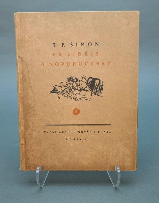 T.F. Simon Exlibris: A Novorocenky. 12 sgd plates