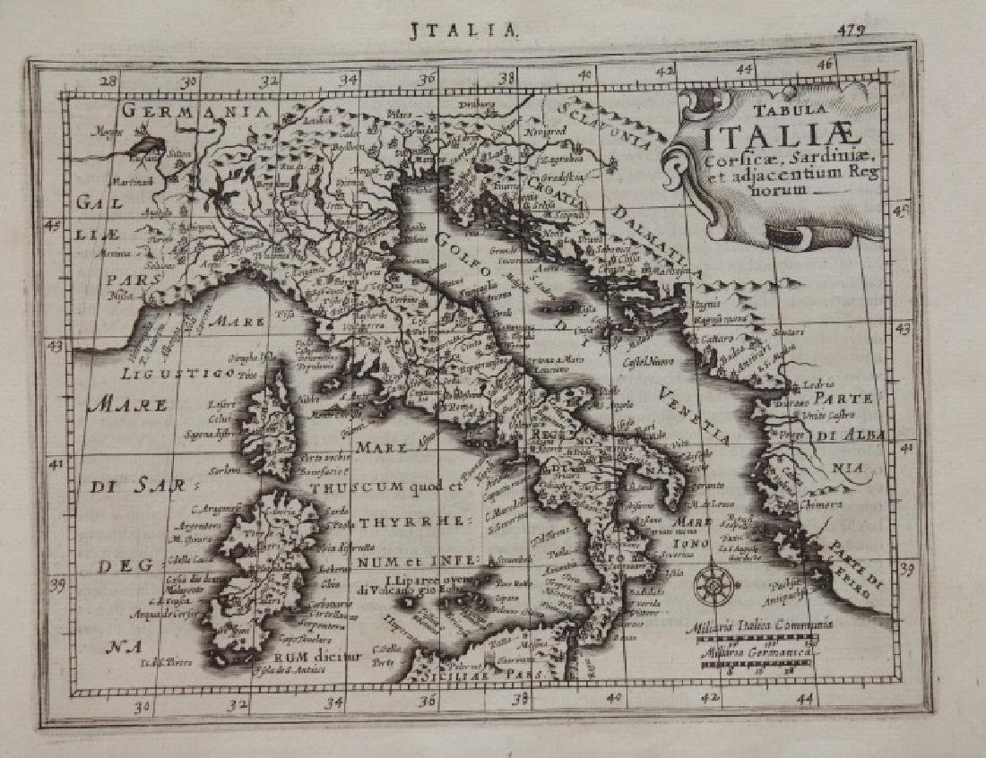 10 Maps: Italy, Gulf of Venice, Israel.