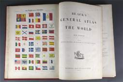 Black's General Atlas Of The World. 1865.
