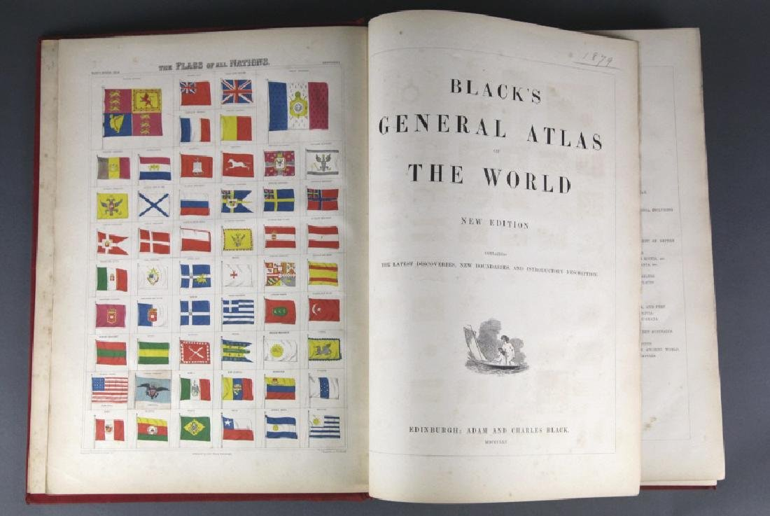 Black's General Atlas Of The World. 1865.