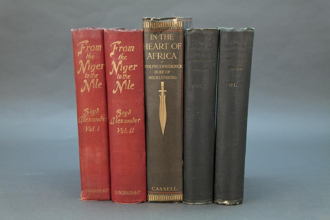 5 Vols incl: From The Niger To The Nile. 2 Vols.