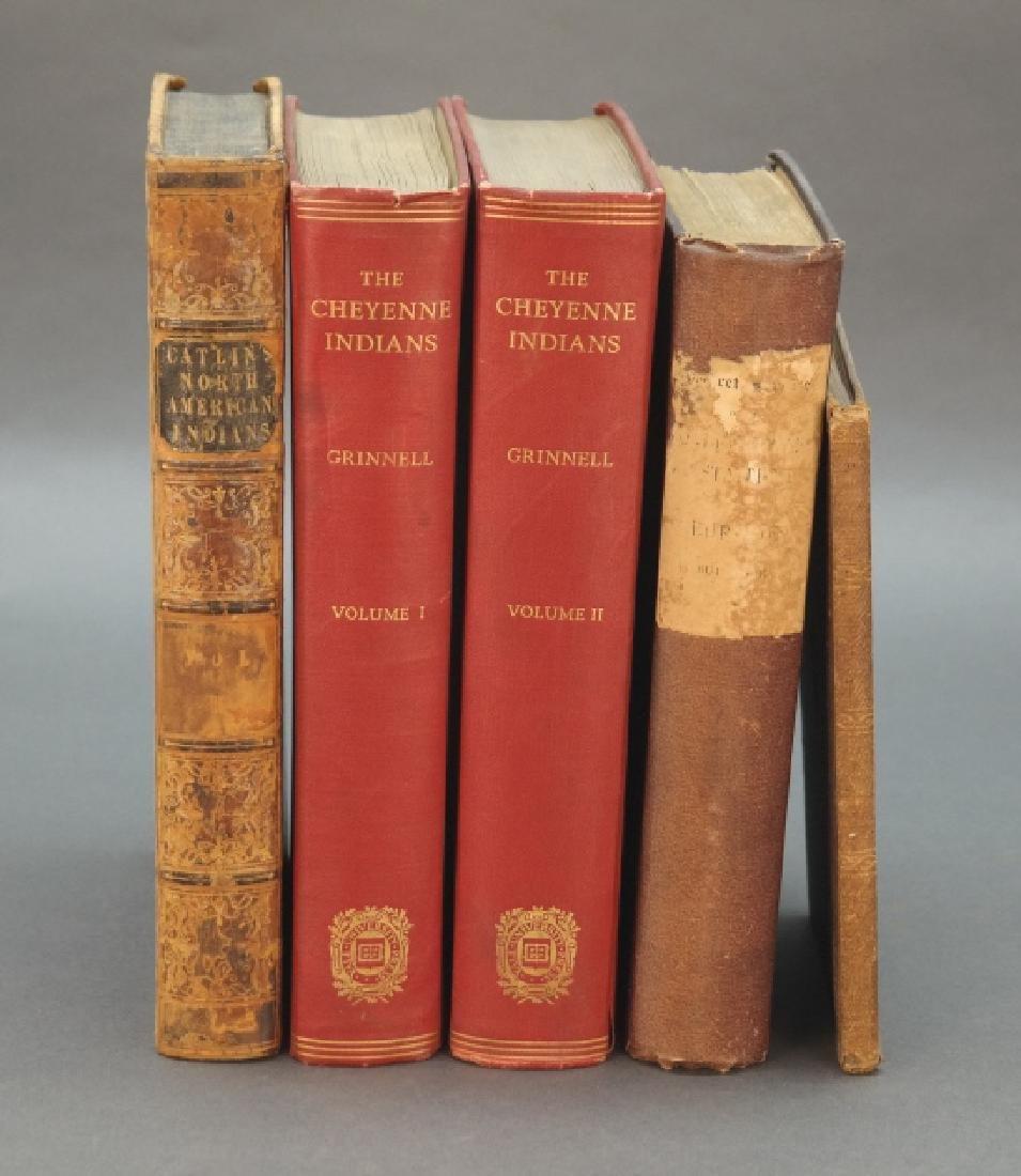 5 Vols: Catlin, Cheyenne Indians, Civil War.