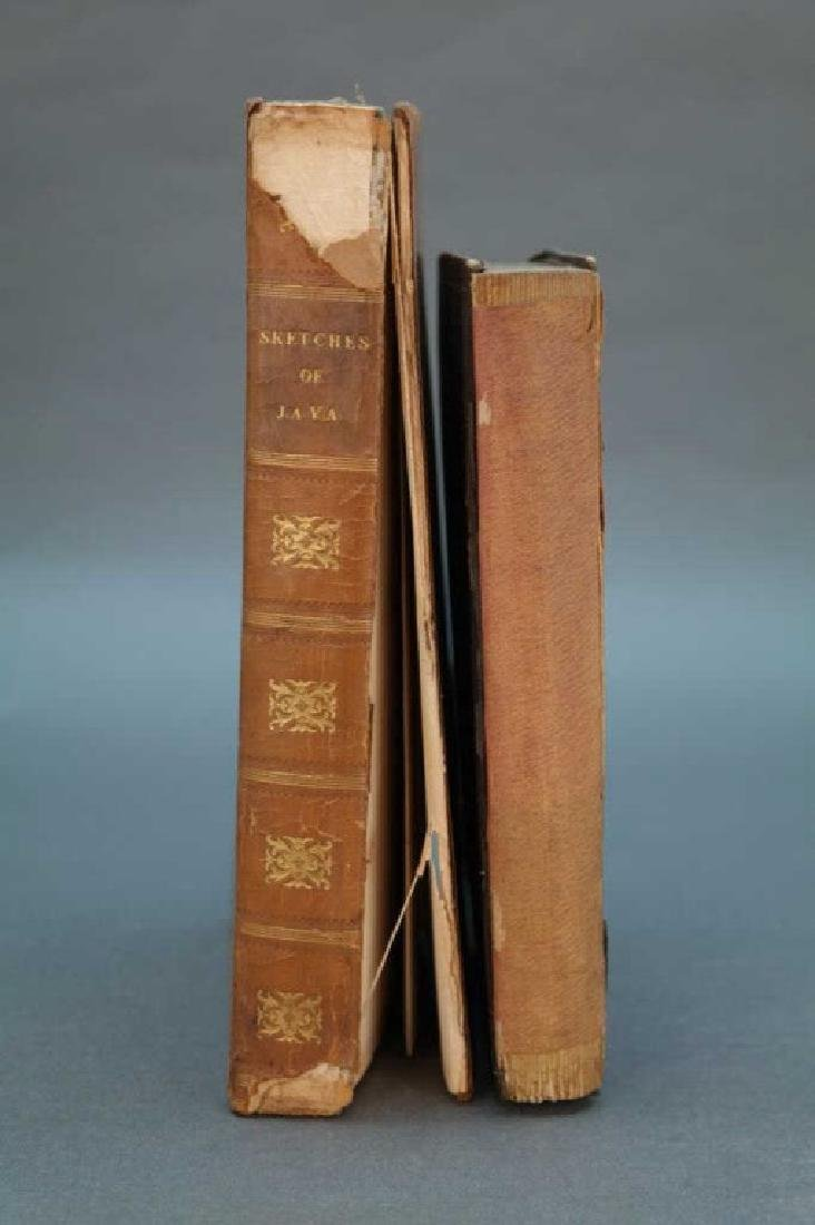 2 Books incl: The Expedition To Borneo..., 1846.