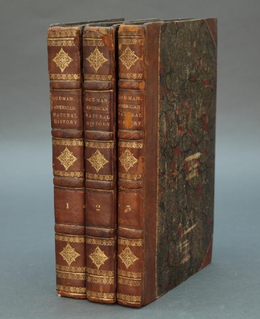 Godman. American Natural History. 3 Vols. 1826-28.