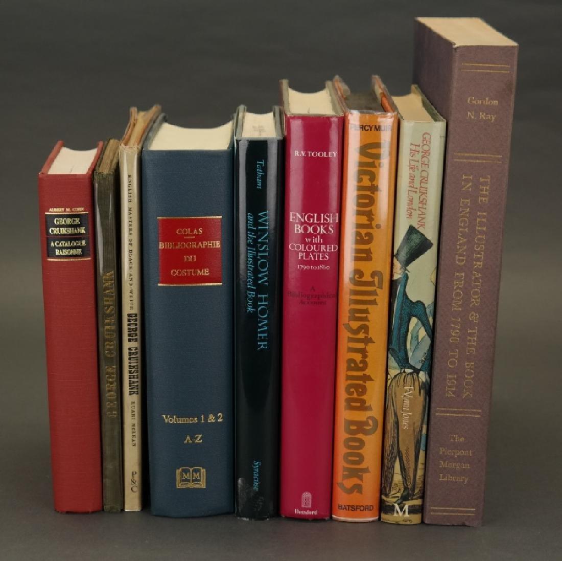 14 Vols incl: ...Genius Of George Cruikshank. 1840