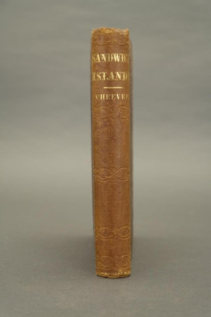 Cheever. Life in the Sandwich Islands. 1851