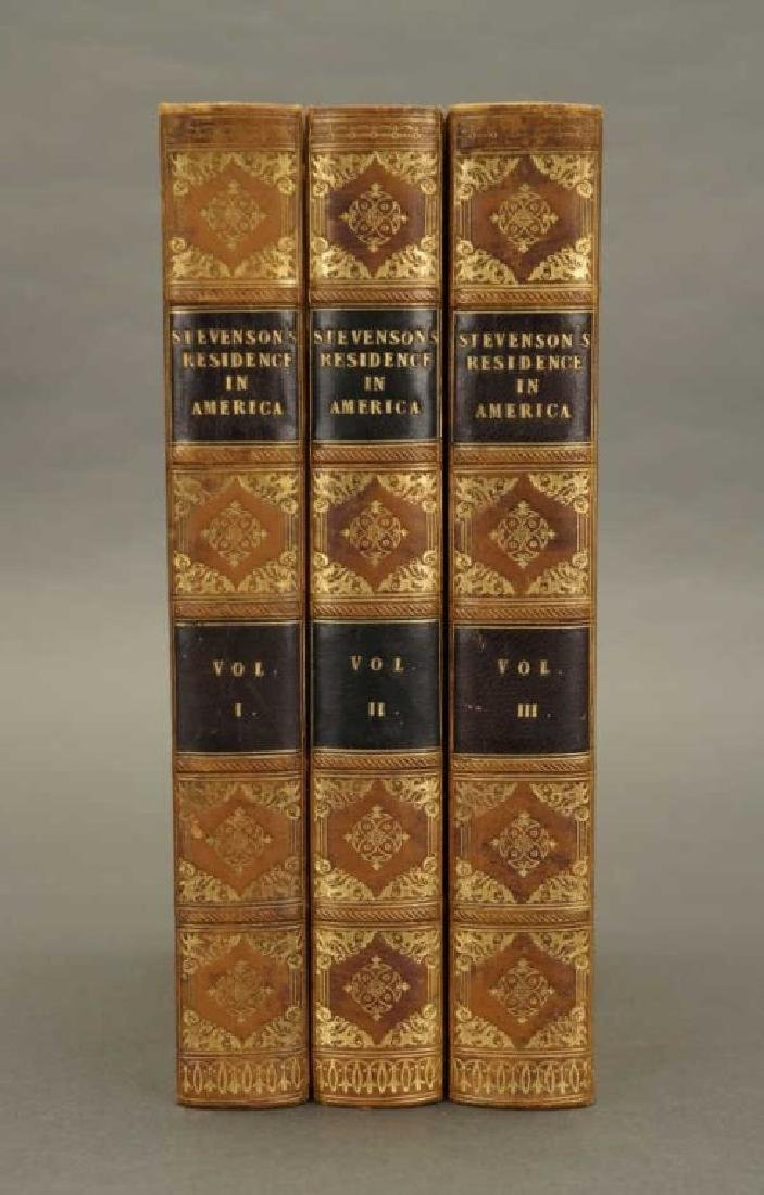 Stevenson. Historical & Descriptive Narrative.1825