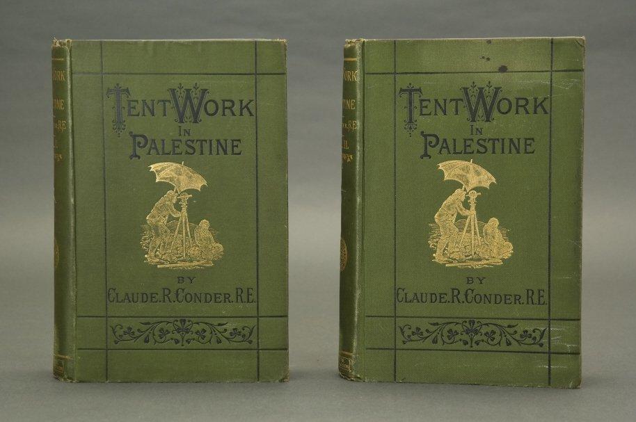 Conder. Tent Work in Palestine. 1878